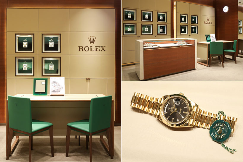 롤렉스 공식 판매점<br>동화시계 입니다.