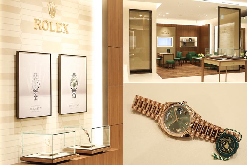 롤렉스 공식 판매점<br>명보시계 입니다.